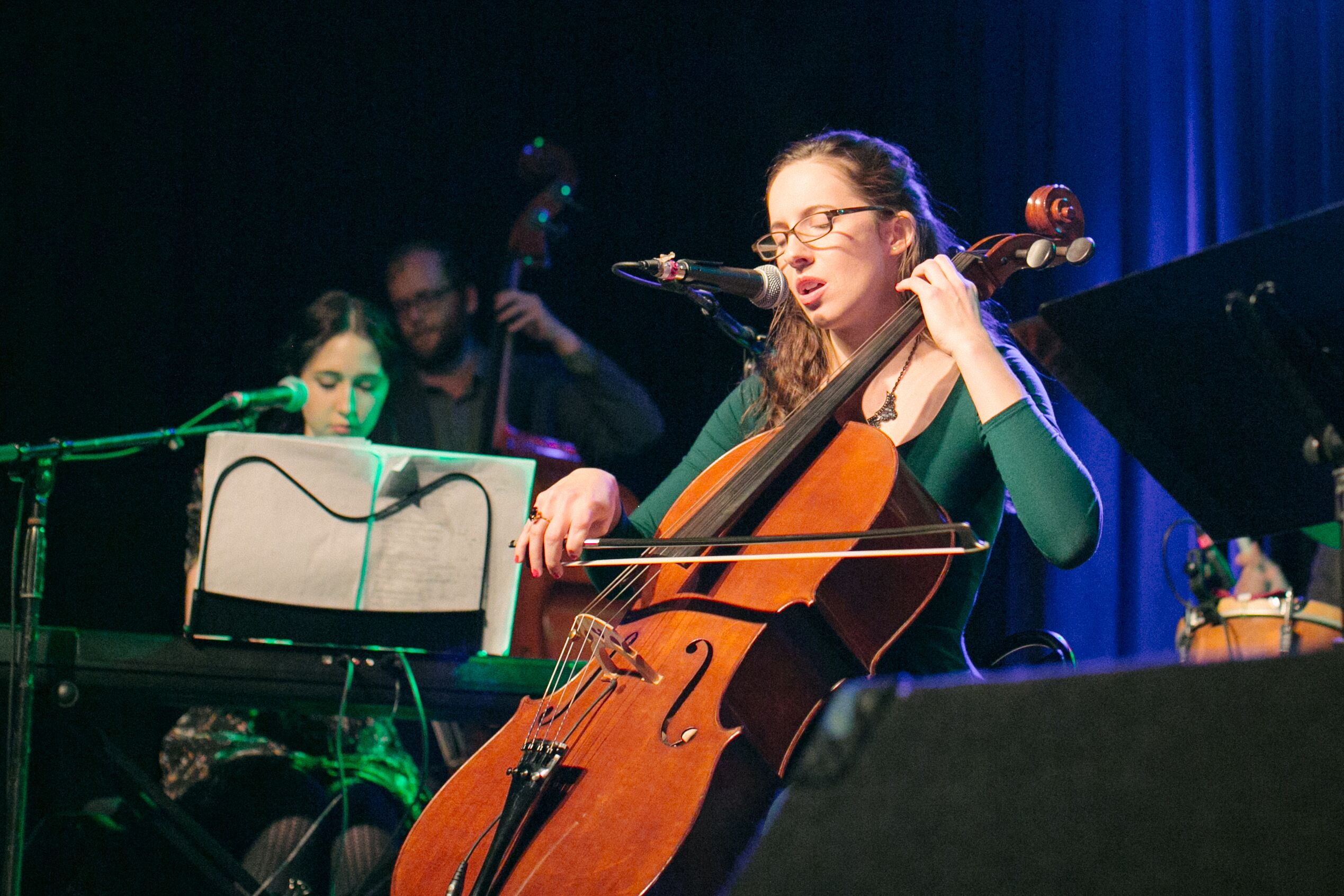 Pippa Hoover performing (landscape). <br> Photo by Norah Hoover.