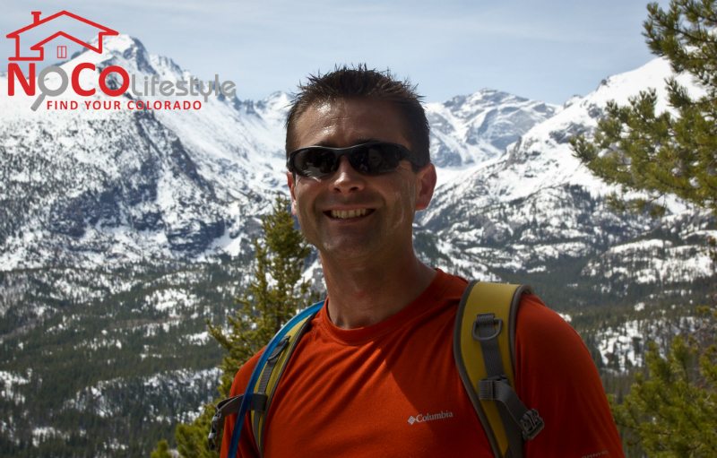 Hike to Flattop Mountain in Rocky Mountain National Park in May 2013