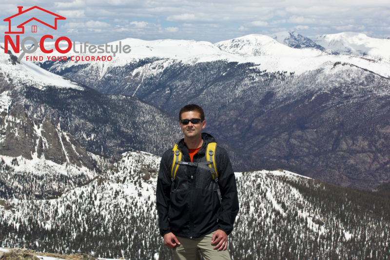 Views from Hike to Flattop Mountain in Rocky Mountain National Park in May 2013