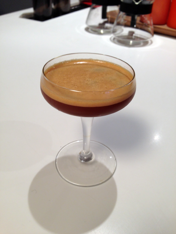 """The """"Second Wind,"""" a riff of the classic daiquiri dropped into the realm of coffee."""