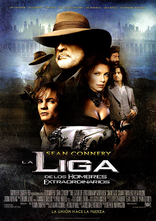 LIGA EXTRAORDINARIA - The League of Extraordinary Gentlemen (LXG) - Pelicula Online
