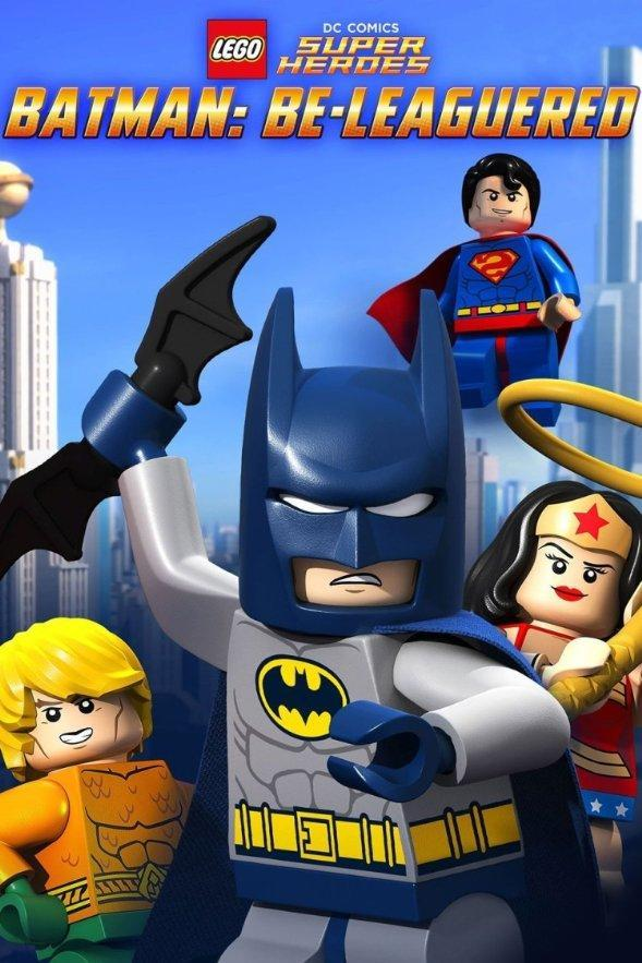 Lego DC Comics Batman: Asediado - LEGO DC Comics: Batman: Be-Leaguered (TV) - PELICULA ONLINE