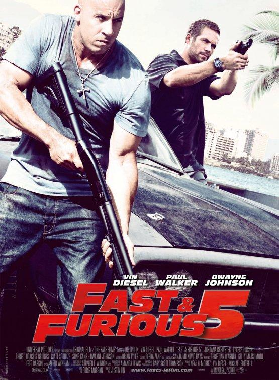 RAPIDO Y FURIOSO 5 - Fast Five (The Fast and the Furious 5) - Pelicula Online