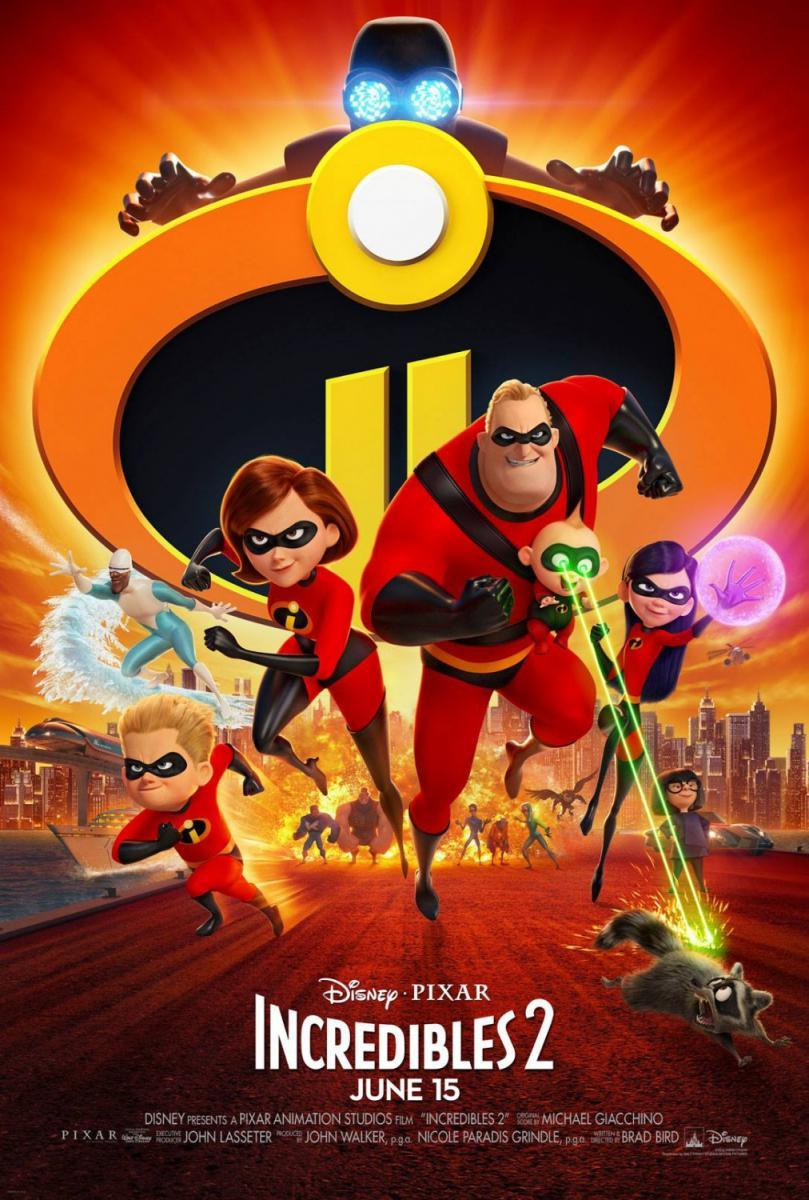 Los Increíbles 2 - The Incredibles 2