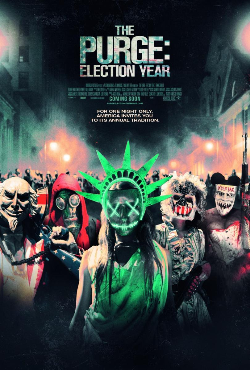 12 horas para sobrevivir: El año de la elección - The Purge: Election Year