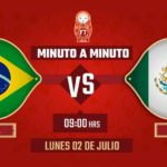 MEXICO VS BRASIL –  CUARTO DE FINAL – MUNDIAL 2018
