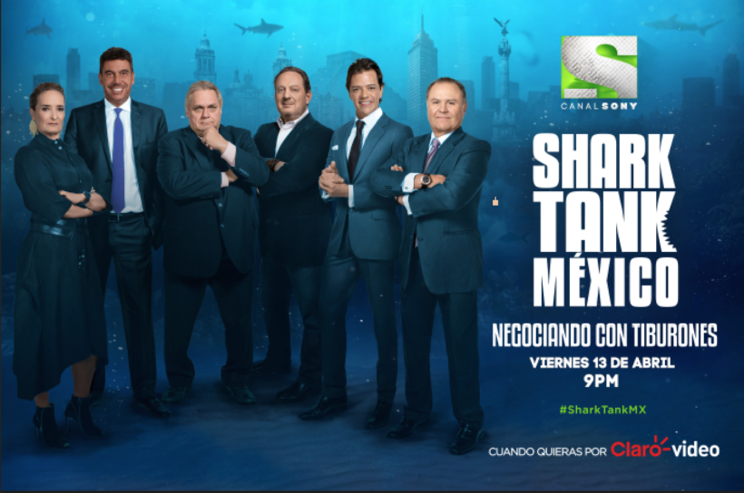 SHARK TANK MEXICO - TEMPORADA 2 - NEGOCIANDO CON TIBURONES - SERIES TV ONLINE