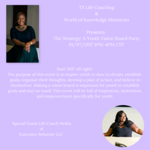 The Strategy: AYouth Vision Board Party @ Word of Knowledge Ministries