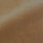 Theo | Walnut - light Brown Corduroy Fabric