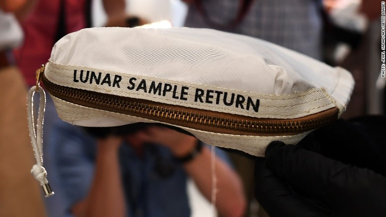 For sale: The bag used by Neil Armstrong to collect moon dust