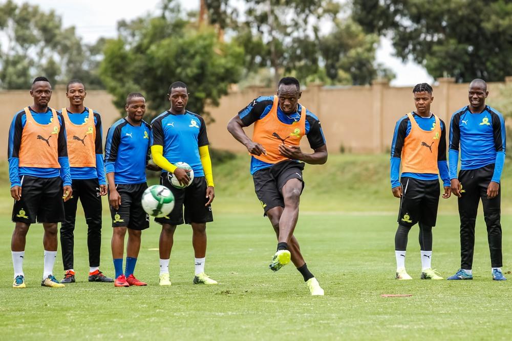 Mamelodi Sundowns hint at Usain Bolt signing