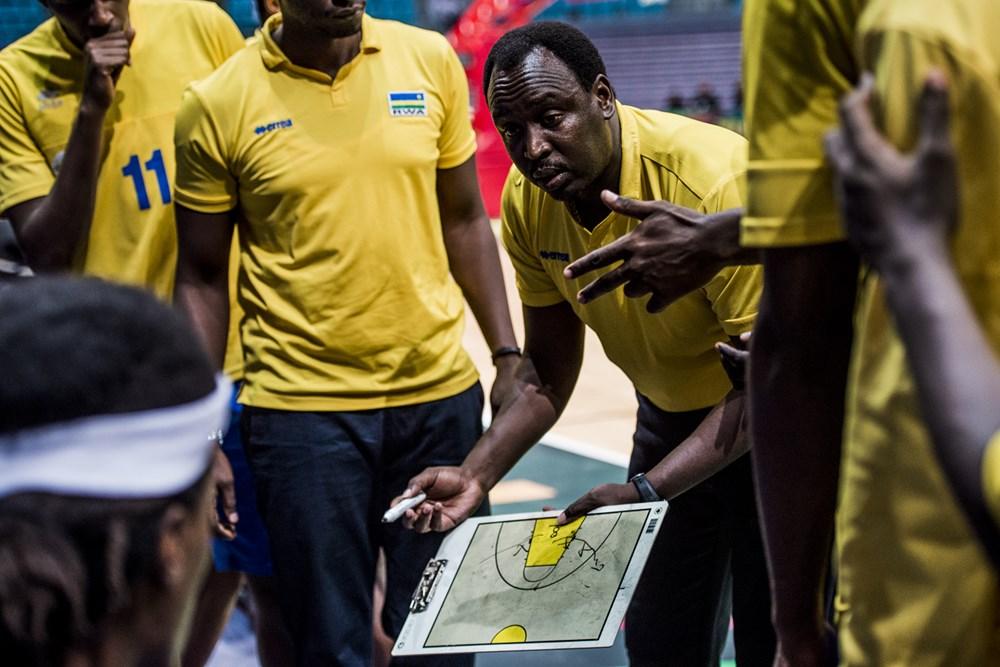 Rwanda's head coach of the National Basketball team sacked
