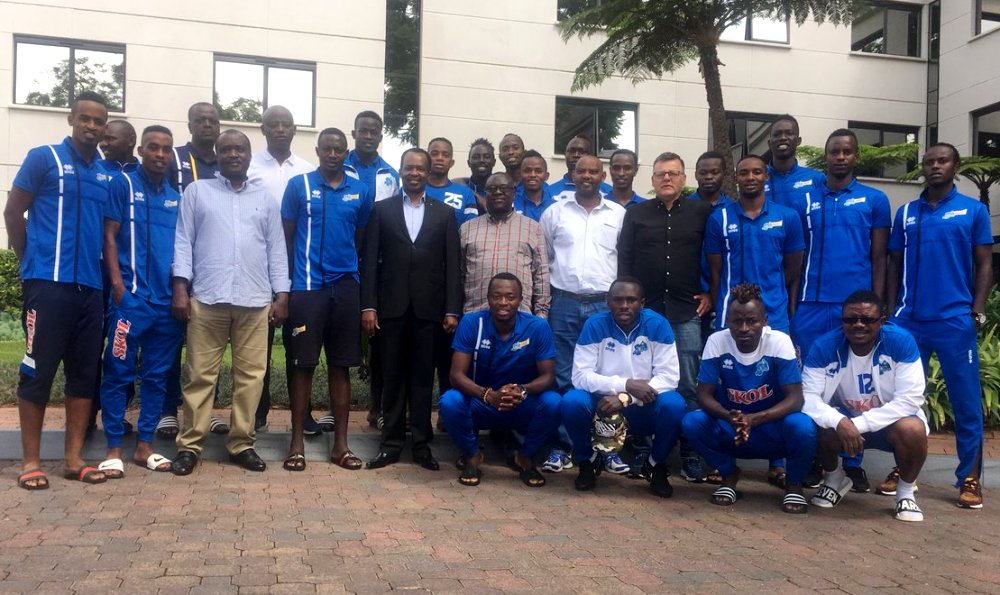 Rwandan Amb to S.Africa lauds Rayon Sports' efforts to face Mamelodi