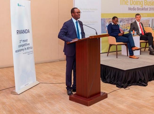 Rwanda unveils draft of doing business reforms at media breakfast
