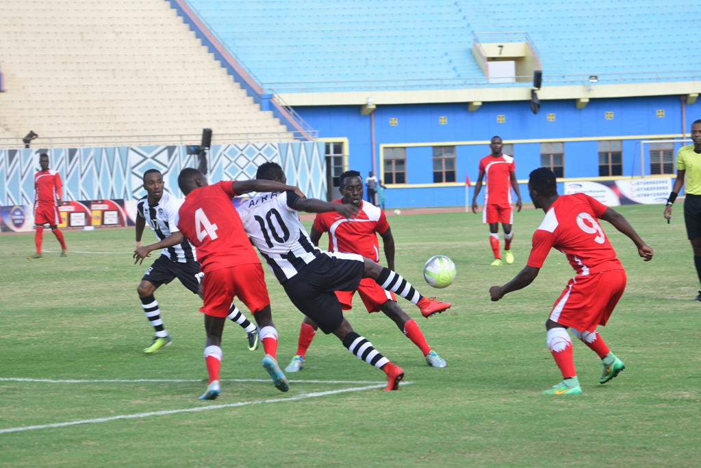 APR FC scores over Espoir FC and wins the 2017/2018 Championship Cup