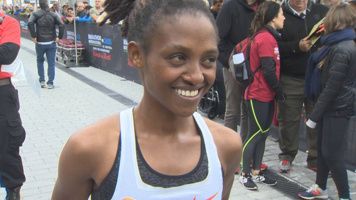 Nyirarukundo Salome crowned the Montreal Marathon female champion