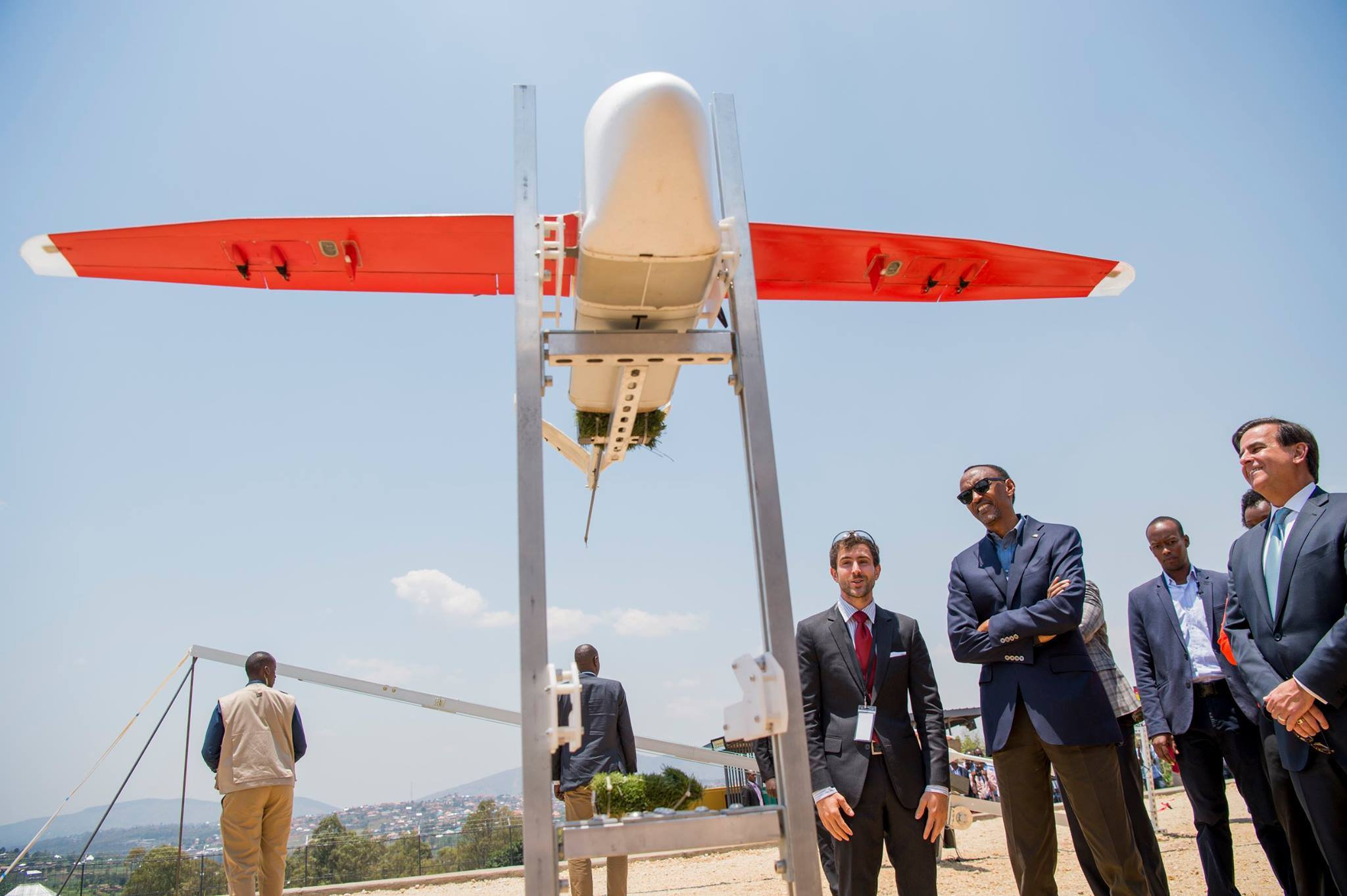 Zipline to start assembling drones in Rwanda