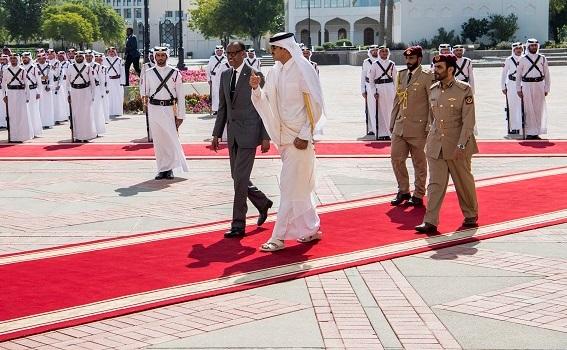 Rwanda, Qatar Sign Investment, Air Service Agreements