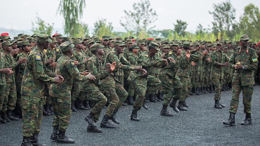 End of the year message by President Paul Kagame to RDF