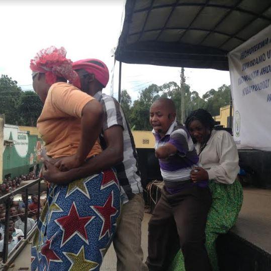 Burera: Locals enjoy drama for the function of judicial system awareness