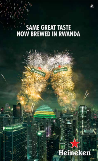 Bralirwa's Maiden Campaign to Mesmerize Consumers with 'Made in Rwanda' Heinken