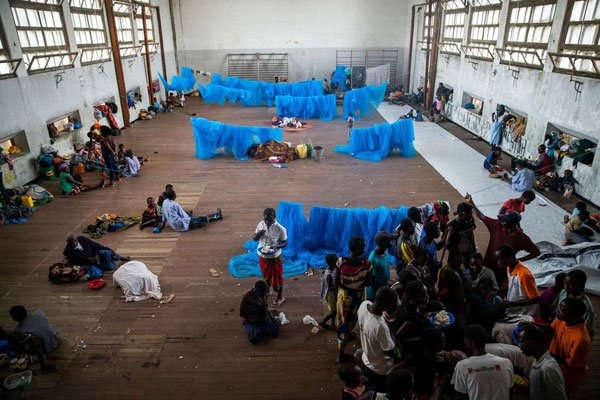 Up to 500,000 displaced by southern Africa cyclone