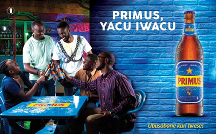 "Bralirwa Plc officially launches a new exciting Primus campaign called ""Home-coming"""