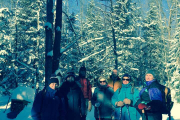 2019-01-26 Guided Snowshoe Hike 1