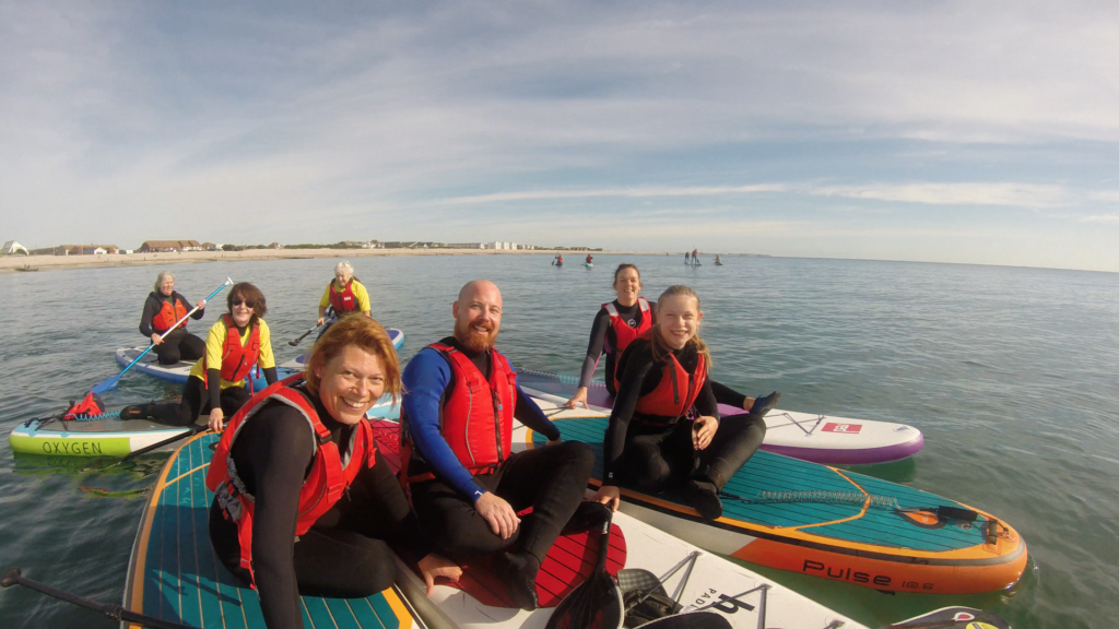 Chichester Sup Club beach paddle