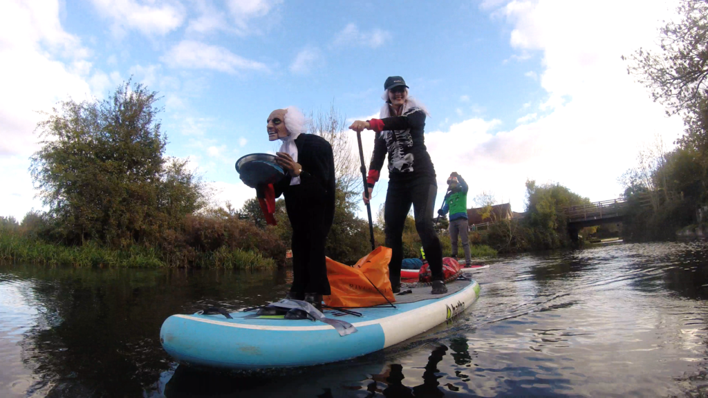 Chichester Sup Club halloween paddle