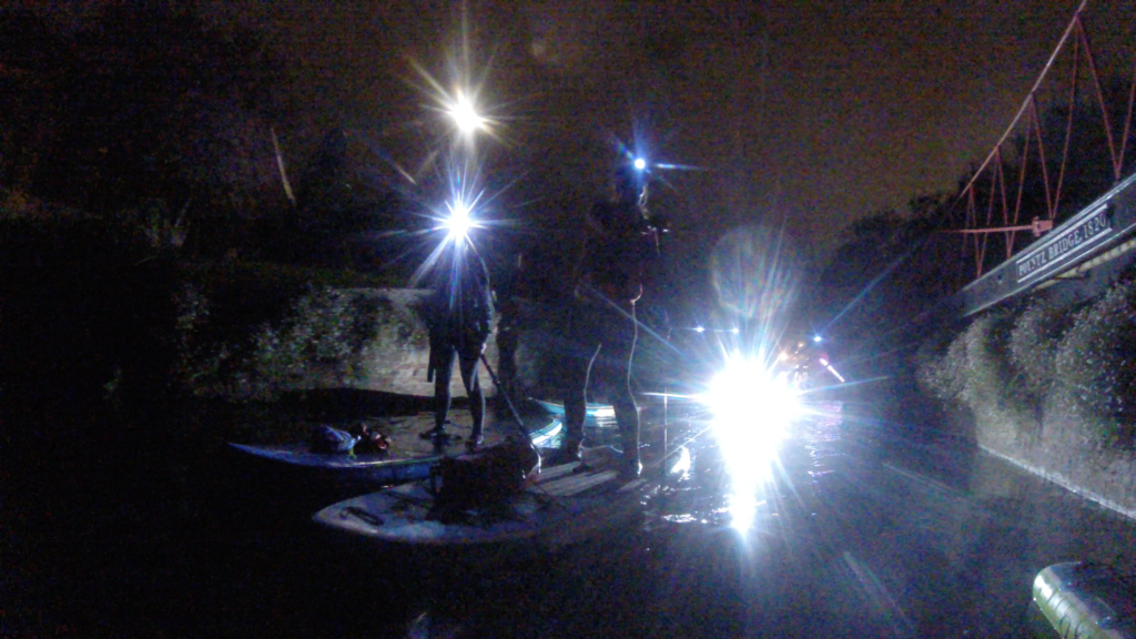 Chichester Sup Club head torch paddle board