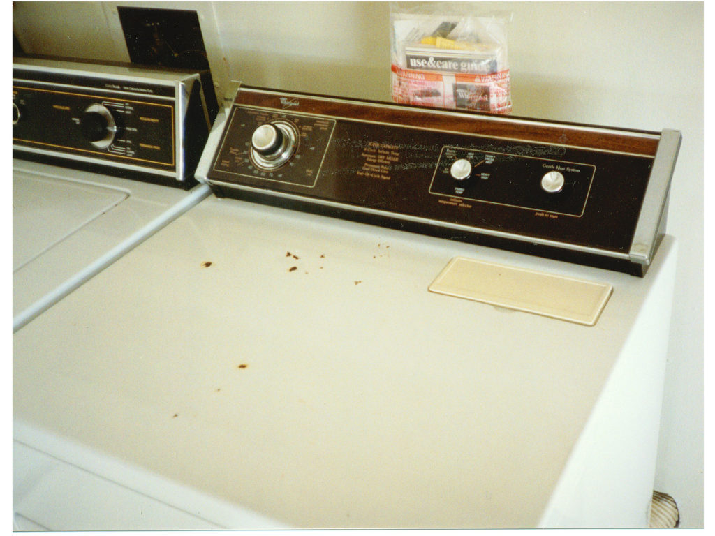Resurfacing damaged Appliances, before piture