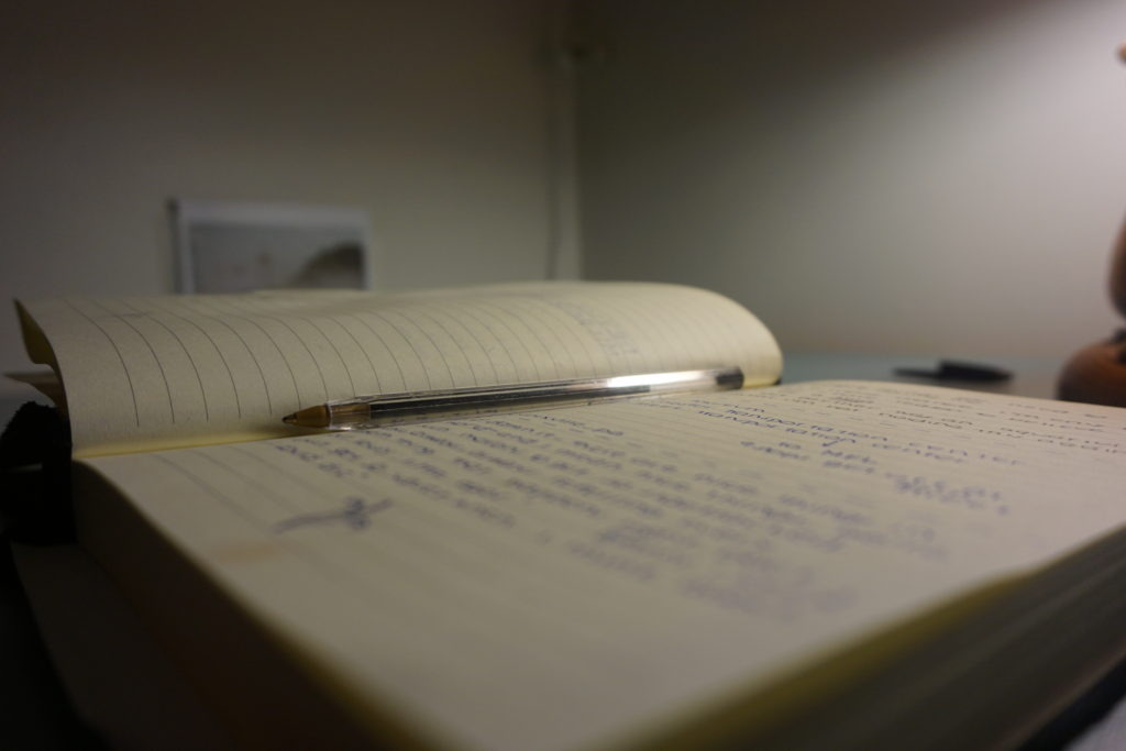 A journal of slam poetry