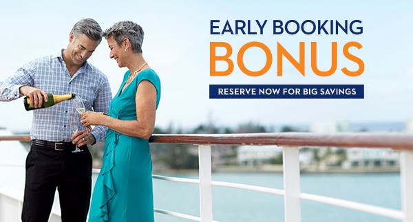 Holland's Early Booking Bonus Offer!