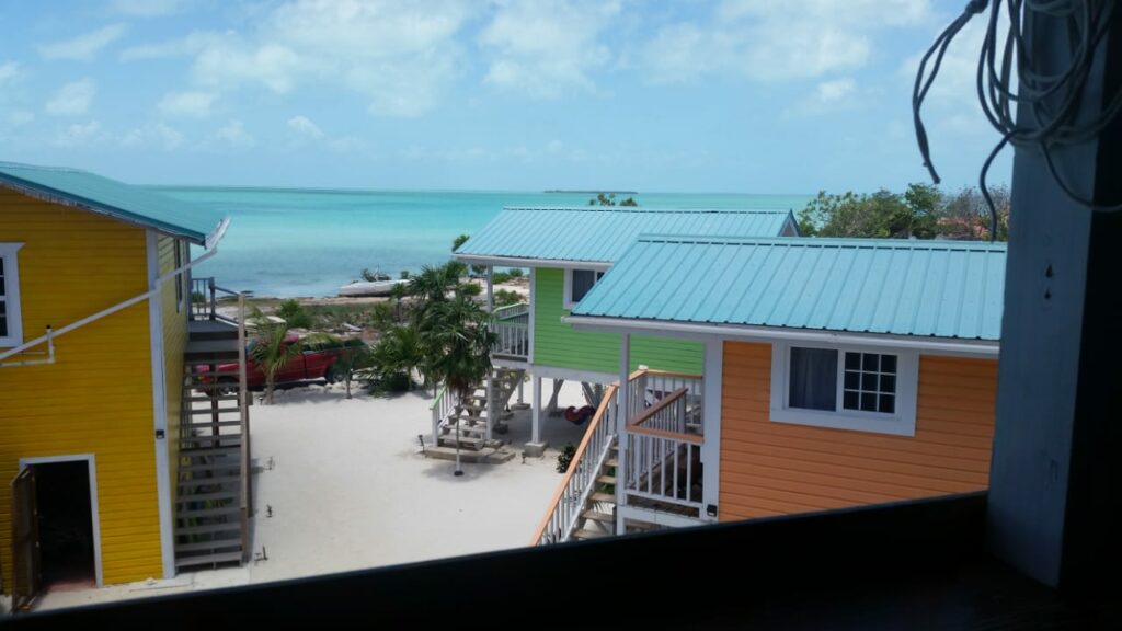 View from Blue Cabana