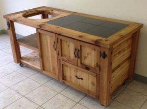 grill-table-prep-board-with-draw-cabinet-space