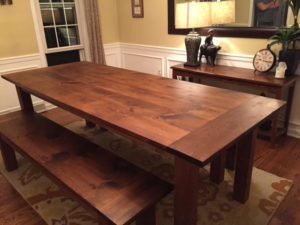 rustic-dining-room-table-satin-finish