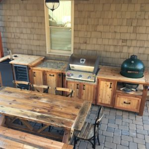 Grill Cabinets, Carts, Tables and Islands