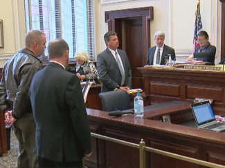 Erpelding resigned from the sheriff's department