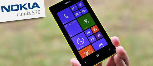 Nokia lanza el Lumia 530