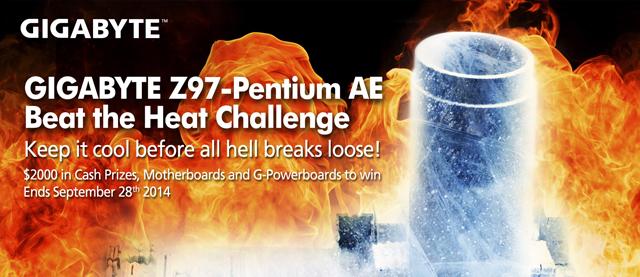 """GIGABYTE Z97-Pentium® AE alienta """"Heat Challenge"""""""