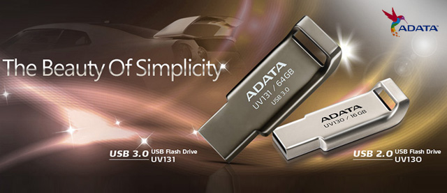 ADATA presenta el Flash Drive UV 131