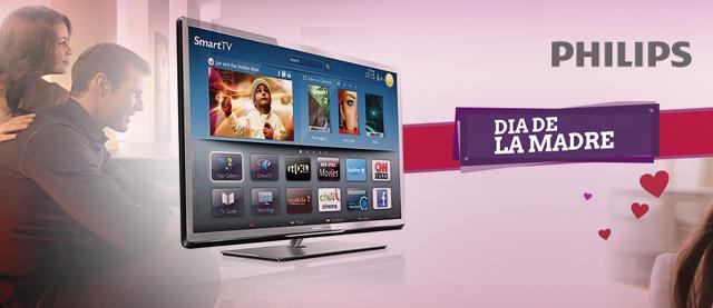 Philips TV lanza un nuevo modelo de TV para el día de la madre