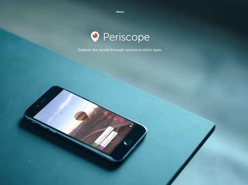 Ahora puedes hacer LiveStream en Periscope sin cuenta de Twitter