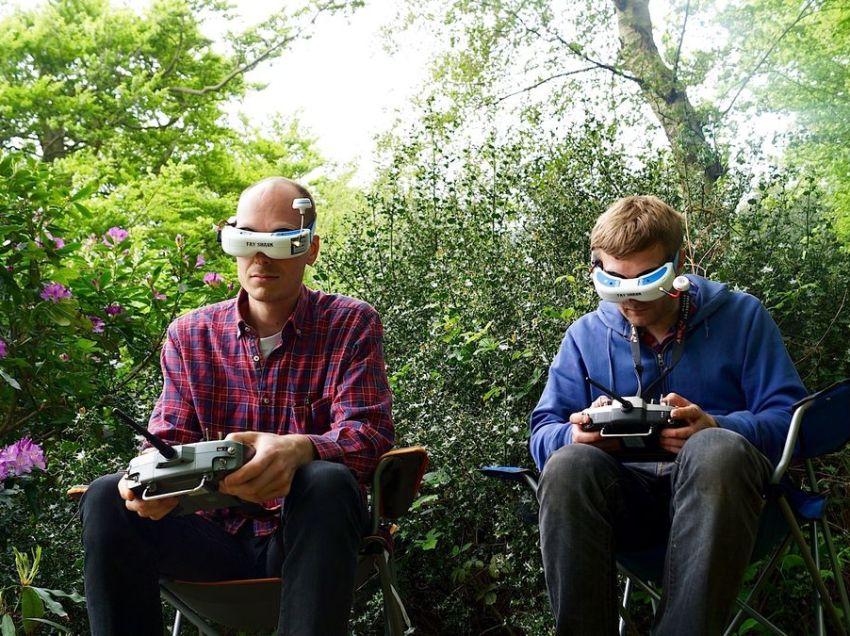 Carrera de Drones deporte del Futuro