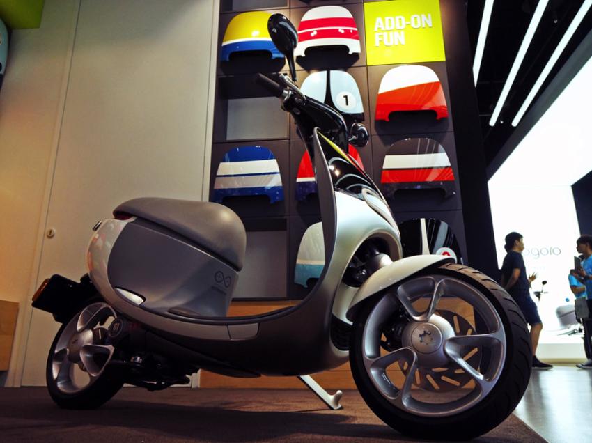 Gogoro, un scooter de lo más novedoso