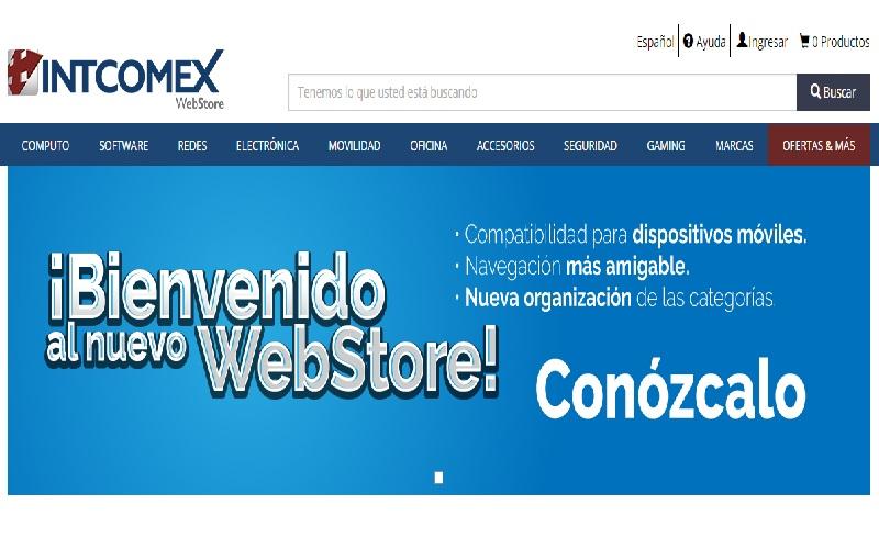 Webstore de Intcomex ya está disponible para dispositivos móviles