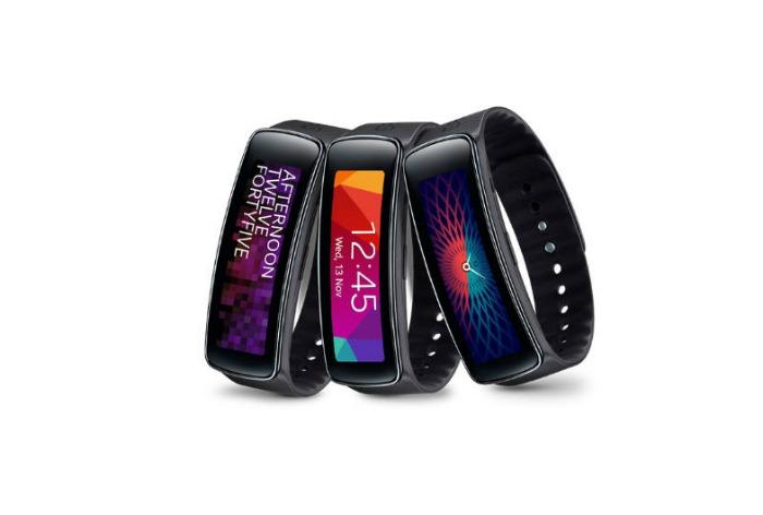 Según patente: Samsung Gear Fit con sensor de huella dactilar