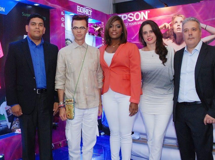 """Epson presenta equipos sublimación textil en """"Dominicana Moda 2016"""""""