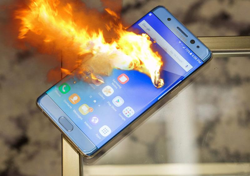 Samsung frena la producción del Galaxy Note 7